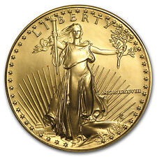 1988 MCMLXXXVIII 1 oz Gold American Eagle Coin - Brilliant Uncirculated