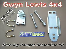 Discovery 1 Steering Damper Relocation kit Range Rover Classic SUMOBARS H/Duty
