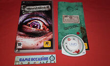 MANHUNT 2 ROCKSTAR GAMES PSP SONY PLAYSTATION COMPLET PAL