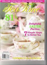 Tea Time Magazine March April 2012 Brand New Back Issue