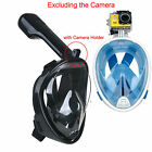 New Full Face Scuba Diving Mask Snorkel Swimming Goggles Under Water Anti-fog