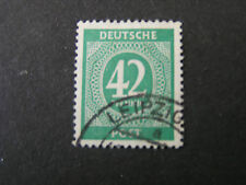 *GERMANY, SCOTT # 549,42pf. VALUE EMERALD1946  NUMERICALS ISSUE USED