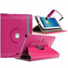 """360 Rotating Leather Case Folio Cover For Archos Android Tablets 7"""" 8"""" 9"""" 10.1"""""""