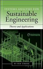 Systems Analysis for Sustainability Engineering : Theory and Applications by...