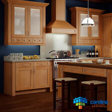 Wood Kitchen Cabinets, Gold Shaker Cabinets 10X10 RTA Cabinets FREE SHIPPING!