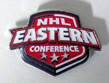 NHL EAST & WEST CONFERENCES - SET OF 2 LOGO PINS - NHL LICENSED - ALL NEW!