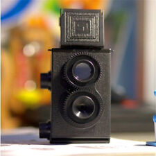 DIY Black Classic Play Hobby Twin Lens Reflex TLR 35mm for Lomo slr Camera Kit