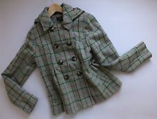 Women's TOPSHOP WOOL MOHAIR Coat Size UK 12 EUR 40 US 8