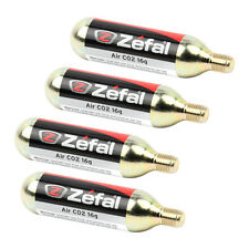 4 PACK OF ZEFAL AIR CO2 CARTRIDGES : 16G THREADED