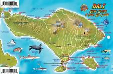 Bali Indonesia Dive Map & Reef Creatures Guide Franko Maps Laminated Fish Card