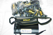 NEW Genuine Nikon Digital SLR Neck Strap D5000 D5100 D3000  D3100 ... UK Seller