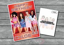 Personalised Little Mix Birthday Card - Any Age, Any Name - A5 Large