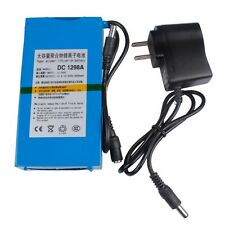 New 12V 9800mAh Super Powerful Rechargeable Li-ion Battery With AC Charger