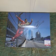 Helios Castroneves Indy 500 Penske Signed Photo, 2002, in protective plastic