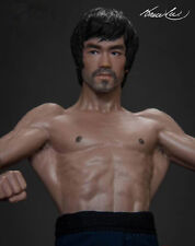 New Bruce Lee The Bat Muscle Action Figure Enter the Dragon Movie Model Toy 75th