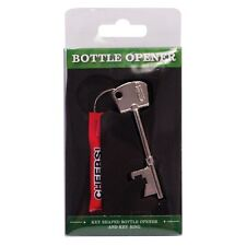 Beer Soft Drink Bottle Opener Key Ring Key Shaped Metal Tool Gadget Novelty Gift