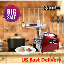 2800W Electric Meat Grinder Mincer Sausage Stuffer machine 2017 Stainless Steel