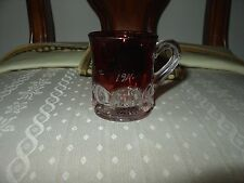 RUBY STAINED SOUVENIR CUP 1911