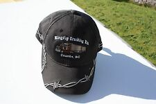 Ball Cap Hat - Kingsley Trucking - Coombs BC Truck Barbed Wire B-Train (H1676)