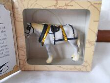 MIB Roman Legends Of The Plains Vol II Horse Figurine Ornament Shire White Grey