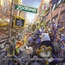 ZOOTOPIA CD - ORIGINAL MOTION PICTURE SOUNDTRACK (2016) - NEW UNOPENED - DISNEY