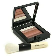 Bobbi Brown Bronze Shimmer Brick Set with Face Blender Brush New & Sealed in Box