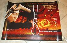 Hero movie poster - Jet Li poster -  30 x 40 inches - Original UK Quad