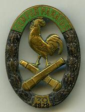 Insigne artillerie , 39  RA.  ( émail , fausse homologation )