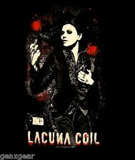 LACUNA COIL cd lgo CRISTINA SCABBIA Official SHIRT SMALL New dark adrenaline