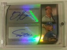 2012 Topps Finest BRYCE HARPER and YU DARVISH Rookie Dual Auto Refractor 2/10
