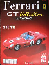FASCICULE 76 FERRARI GT COLLECTION   330 TR 1962 + POSTER