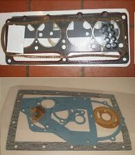 RELIANT Robin Rialto Rebel Fox Regal HEAD & SUMP  (COMPLETE ENGINE GASKET SET)