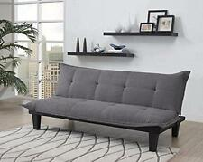 Futon Sofa Bed Queen Size Couch Bed Home Furniture Convertible Sleeper Charcoal