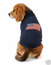 RALPH LAUREN POLO American Flag Cotton Dog Sweater Size S/M Fits 7-9 lbs NWT