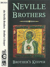 NEVILLE BROTHERS BROTHER'S KEEPER CASSETTE ALBUM Bayou Funk, Soul 1990 A&M Reco