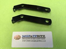 MGF / MG TF / LE500 PAIR OF POWDER COATED HORN BRACKETS - FREE DELIVERY