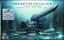 PROMETHEUS To ALIEN - The EVOLUTION - Limited Edition BLU RAY Box set RARE