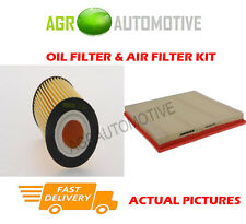 PETROL SERVICE KIT OIL AIR FILTER FOR VAUXHALL ASTRA 1.4 120 BHP 2010-