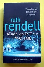 Adam And Even And Pinch Me Ruth Rendell paperback book novel crime suspense