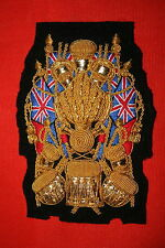 BRITISH ARMY ROYAL ARTILLERY BAND DRUM MAJOR'S APPOINTMENT BADGE