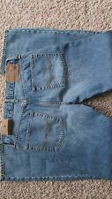 NEW AMERICAN EAGLE ORIGINAL BOOT JEANS MENS 31X30 MEDIUM RESIN WHISKER FREE SHIP