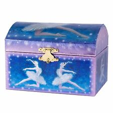 "Blue Ballerina Music Jewelry Box, Plays ""Swan Lake"", by Broadway Gifts"