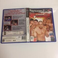 K-1 Premium Dynamite !! PS2 / PS3 (60gb)