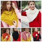 New winter warm knitting wool scarf women fashion scarf Neck shawl