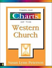Timeline Charts of the Western Church by Susan Lynn Peterson (1999, Paperback)