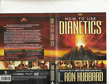 How To Use Dianetics-L.Ron Hubbard-2009-2 DVD+2 Booklet-Religion Scientology-DVD