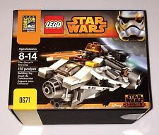SDCC 2014 LEGO STAR WARS Rebel Ghost Starship EXCLUSIVE SET #671/1000 RARE