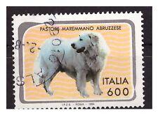 PASTORE MAREMMANO  FRANCOBOLLO USATO -  ITALIA 1993