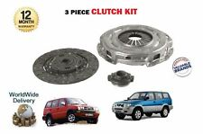 FOR FORD MAVERICK NISSAN TERRANO 2 2.7 TD27TI ENGINE 1996--  3 PIECE CLUTCH KIT