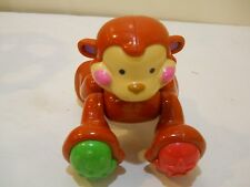 COLLECTIBLE FISHER PRICE AMAZING ANIMAL MONKEY BABY/TODDLER TOY